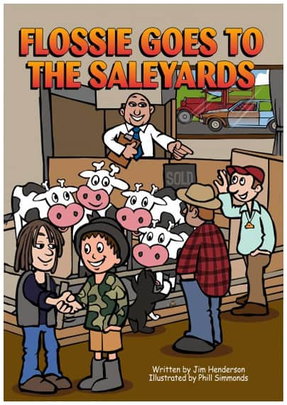 Flossie goes to the sale yards