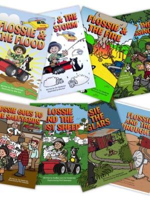 Set of 8 Cracker Jim books