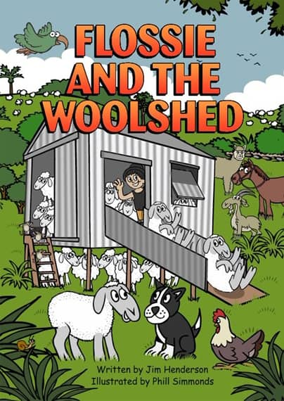 Flossie and the Woolshed